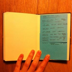 sad diary