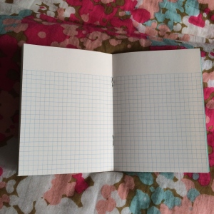 Mini Notebook (inside) from Paperways, £2.50