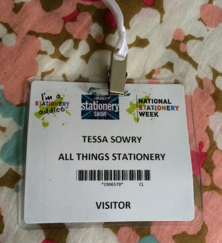 And most exciting of all...! My own lanyard making me look all official and that.
