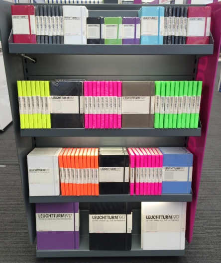 Lovely bright colours at the Leuchtturm1917 stand